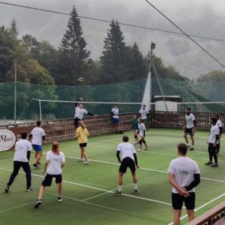 Torneo di Volley ad Oropa