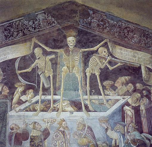 """Il Biellese magico e misterioso: La """"Danza macabra"""" scomparsa a Coggiola e la """"Tomba del guerriero"""" di Rosasco"""