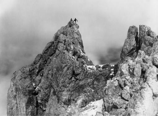 Vittorio Sella (Ultimo picco dal Cimon della Pala - 26 agosto 1891) - Foto Fondazione Sella