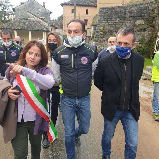 Francesca Delmastro, a sinistra, candidata sindaco a Rosazza  per il secondo mandato consecutivo - Foto pagina Facebook Francesca Delmastro