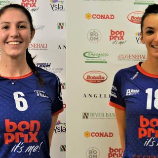 Letizia Gualinetti e Sara Gaito - TeamVolley