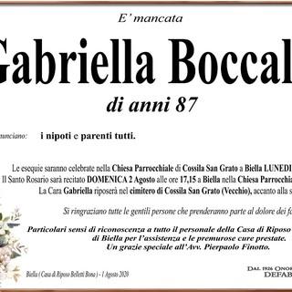 Gabriella Boccalatte