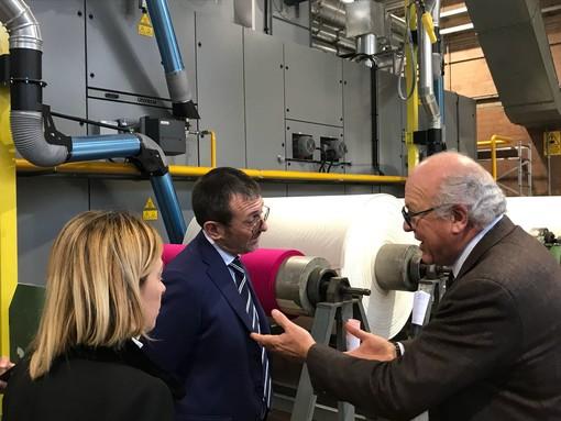 Il presidente di Fratelli d'Italia Giorgia Meloni ieri all'Unione Industriale e da Piacenza