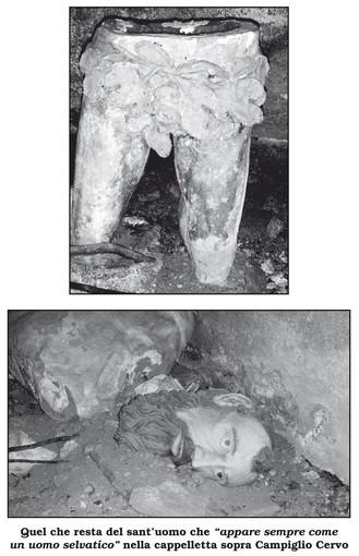 Biellese magico e misterioso: CAMPIGLIACERVO - Campija e La statua dell'uomo vestito di foglie