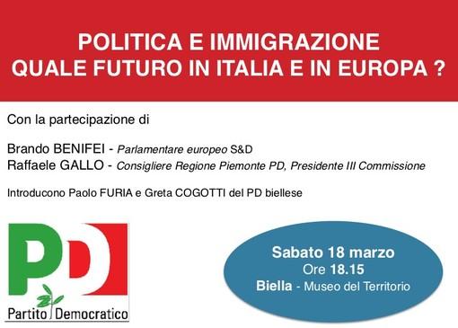 A Biella si parla di politica e immigrazione con l'europarlamentare Benifei
