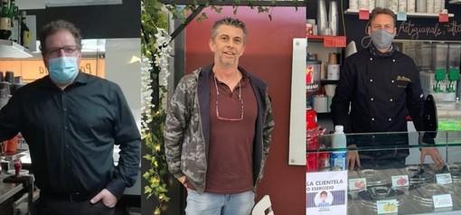 Nuova sentenza favorevole a #ioapro, da sinistra Basone, Bianchetto, Capraro - Foto archivio newsbiella.it