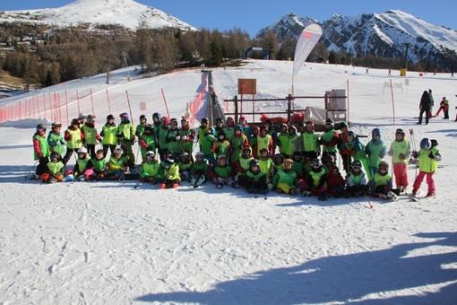 Corso di sci 2019 a Palasinaz, in Valle d'Aosta con il GS Graja