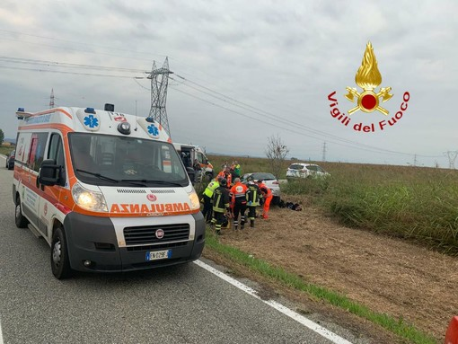 Foto comando provinciale Vigili del fuoco Vercelli