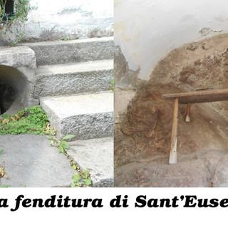"""Biellese magico e misterioso: Il """"ròch dla vita"""" del santuario dl'Urupa la fenditura guaritrice di Sant'Euseo di Serravalle"""