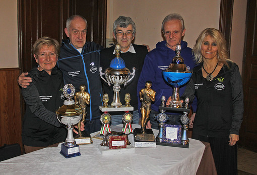 Premiati i campioni sociali del Gaglianico 74