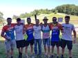 Coradin, Nicholas Seris, Simone Gasparini, Gionata Ferrario, in basso da sinistra Filippo Muraca e