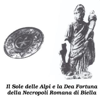 """Biellese magico e misterioso: BIELLARIVA - An Riva, la """"Dea Fortuna"""" e il """"Sole delle Alpi"""" della necropoli romana"""