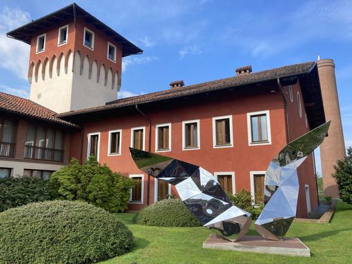 Atterra a Sandigliano l'opera di Daniele Basso dedicata a Leonardo Da Vinci