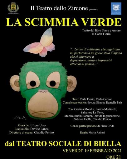 Dal libro di Carla Fiorio nasce uno spettacolo teatrale, appuntamento in streaming