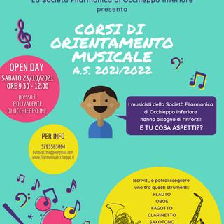 Occhieppo Inferiore: Open Day alla scuola di musica