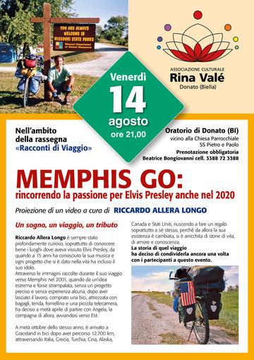 Il 14 Agosto a Donato - Memphis Go: rincorrendo la passione per Elvis Presley