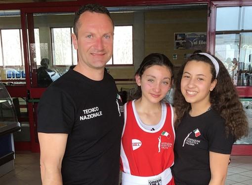 Boxe: argento tricolore e convocazione azzurra per la 13enne Matilde Ferraris