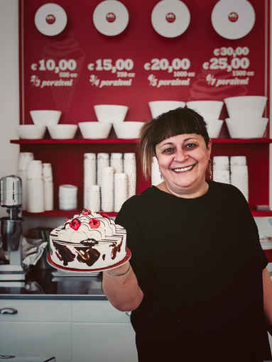 Barbara, la pasticcera di Mag Gelato Biella - Foto Mag