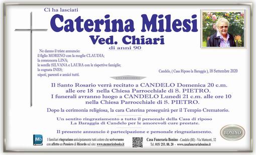 Caterina Milesi Ved. Chiari