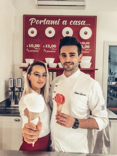 Viktoria e Matteo - Foto Mag Gelato Biella