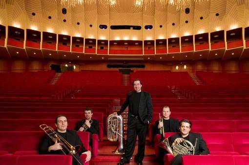 Il quintetto Pentabrass - Foto N.I.S.I.ArteMusica