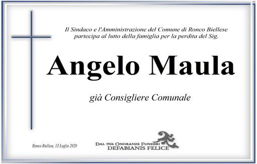 Partecipazione Angelo Maula