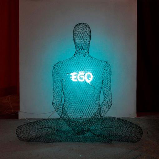 """L'opera di uno dei nuovi artisti, """"Ego"""" di Parchynski"""