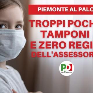 "PD: ""Esiste un caso Piemonte, la Giunta deve lavorare""."