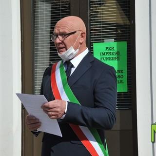 Il sindaco Roberto Locca - Foto archivio newsbiella.it