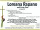 Loreana Rapano ved. Carta Zina