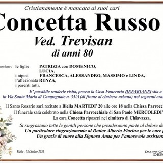 Concetta Russo ved. Trevisan