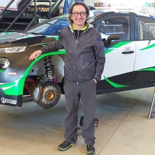 Il pilota ossolano Stefano Serini - Foto Biella Motor Team