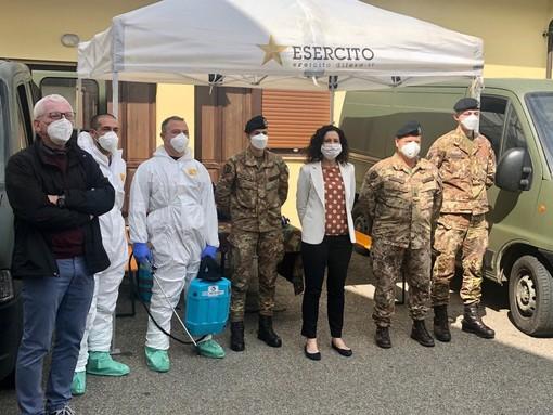 Case di riposo, nel Biellese sanificate tre residenze da parte dell'Esercito