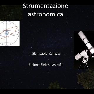 Riprendono i corsi online con l'Unione Biellese Astrofili