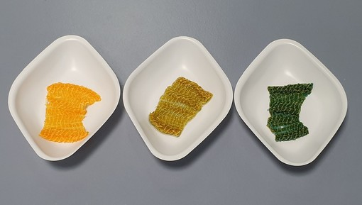 I tessuti che cambiano colore in base al pH, a Biella i primi test di laboratorio