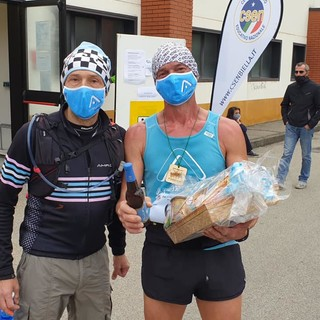 Pralungo: Amron team sul podio dell'Oropa Trail Light
