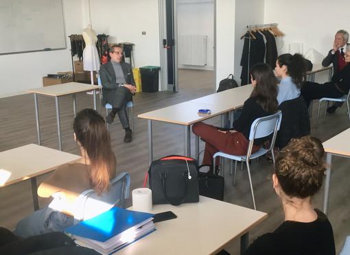 Paolo Torello Viera, AD di Lanificio Cerruti, incontra gli studenti del TAM