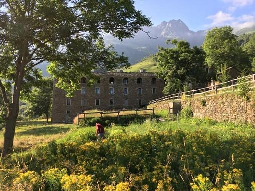 Due settimane di cura del paesaggio montano alla Trappa - Foto Foto pagina Facebook Trappa Sordevolo
