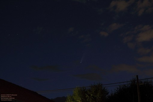 Cometa Neowise - Foto Giampaolo Canazza U.B.A.