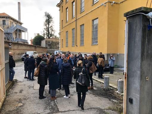 Evacuato il tribunale di Biella per una prova allarme incendio