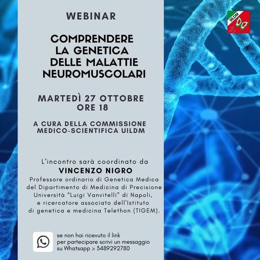 Una videoconferenza per comprendere la genetica delle malattie neuromuscolari