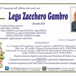 Lega Zacchero Gambro