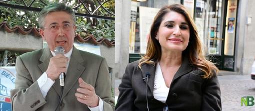 Luigi Apicella e Barbara Greggio