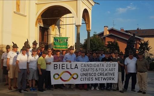 La sezione ANA di Biella - Foto di repertorio