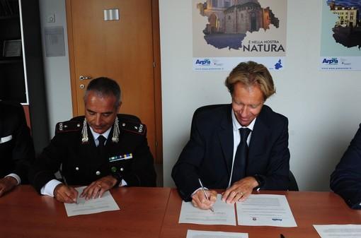 Montagna più sicura, firmato accordo collaborazione tra Arpa Piemonte e Carabinieri Forestali