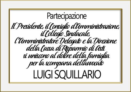 Partecipazione Luigi Squillario