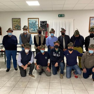 Alpini Ponderano, rinnovo del consiglio direttivo: Rossini riconfermato capogruppo