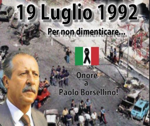 Strage di via d'Amelio, con Libera Biella la commemorazione in ricordo di Borsellino