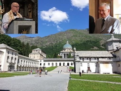 Lutto per l'avvocato Squillario, da Oropa il ricordo di Giancarlo Macchetto e don Michele Berchi