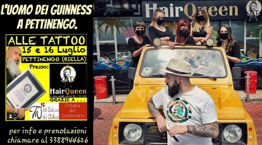 """Alle Tattoo"" e ""Hair Queen"": arriva l'evento dell'anno a Pettinengo"